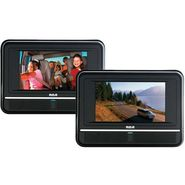 "RCA Twin Mobile DVD Players with 7"" LCD Screens at Kmart.com"