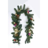 Ty Pennington Golden Adornments 6ft Ribbon and Cyder Garland at Kmart.com