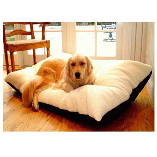 Majestic Pet Medium 30x40 Rectangle Pet Bed - Black
