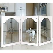 Majestic Pet Universal Free Standing Pet Gate (Wire insert & White) at Kmart.com