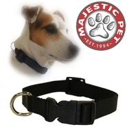Majestic Pet 14in - 20in Adjustable Collar Black, 40 - 120 lbs dog at Kmart.com