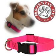Majestic Pet 14in - 20in Adjustable Collar Pink, 40 - 120 lbs dog at Kmart.com