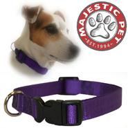 Majestic Pet 10in - 16in Adjustable Collar Purple, 10 - 45 lbs dog at Kmart.com