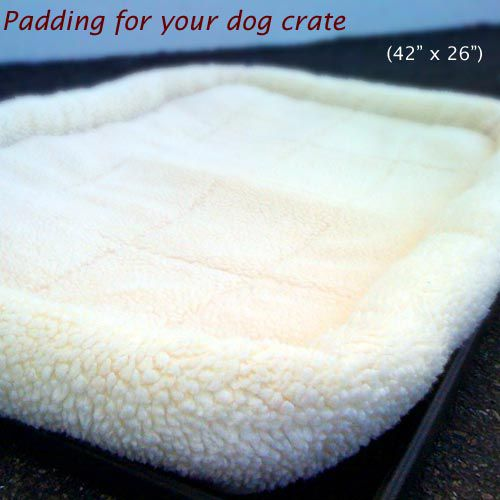 42in Majestic Pet Crate Pet Bed Mat (Sherpa)