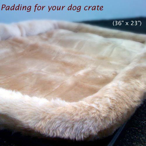 36in Majestic Pet Crate Pet Bed Mat (Honey)