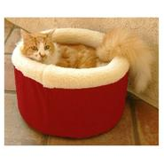 Majestic Pet Medium 20in Cat Cuddler Pet Bed - Red at Sears.com