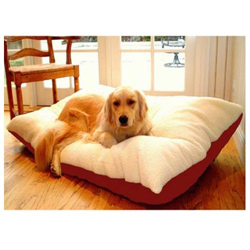 Majestic Pet Medium 30x40 Rectangle Pet Bed - Red