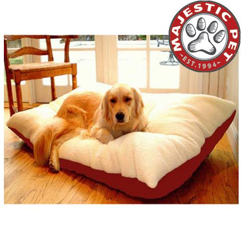 Majestic Pet Extra Large 42x60 Rectangle Pet Bed - Red