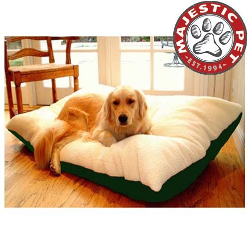 Majestic Pet Extra Large 42x60 Rectangle Pet Bed - Green