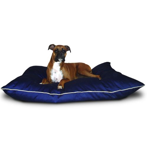 Majestic Pet Medium 28x35 Super Value Pet Bed - Blue