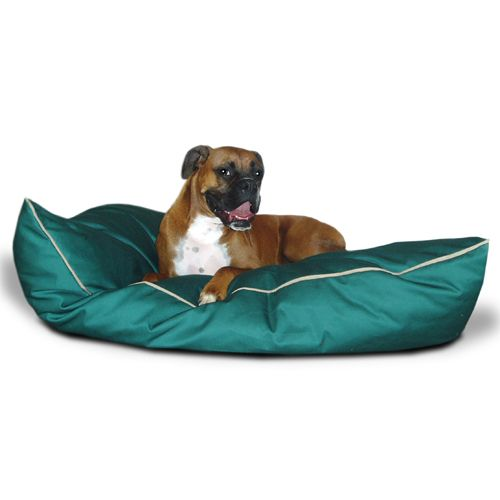 Majestic Pet Medium 28x35 Super Value Pet Bed - Green
