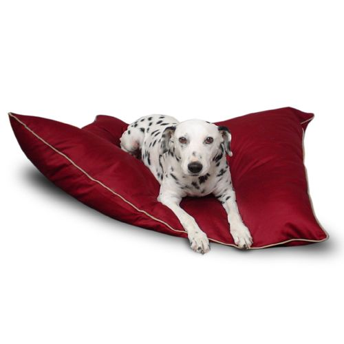 Majestic Pet Medium 28x35 Super Value Pet Bed - Burgundy