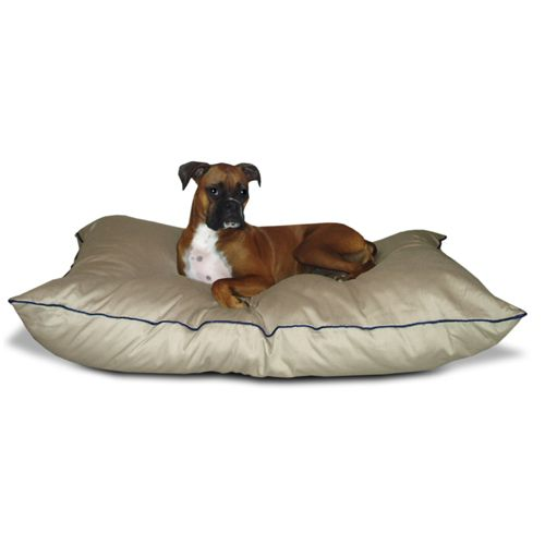 Majestic Pet Medium 28x35 Super Value Pet Bed - Khaki