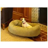 Majestic Pet 40in Bagel Dog Pet Bed Suede Sage at Sears.com