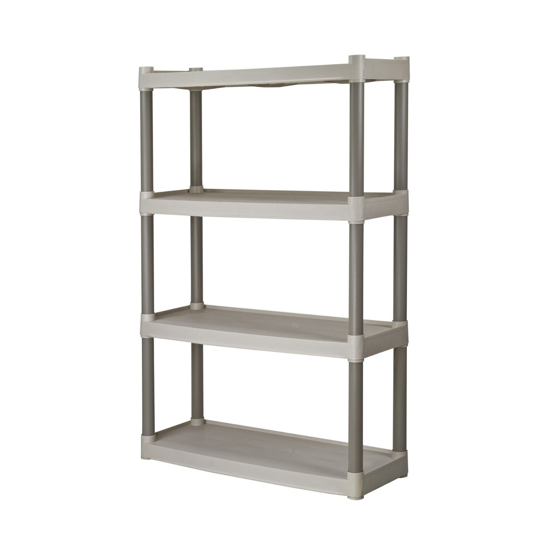 4-SHELF UTILITY RESIN SHELF                                                                                                      at mygofer.com