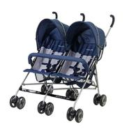 Dream On Me Side By Side Twin Baby Stroller, Navy at Sears.com