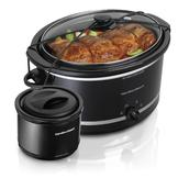Hamilton Beach 5 Qt. Portable Slow Cooker with Bonus Warmer at mygofer.com