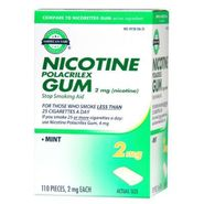 American Fare Stop Smoking Gum Mint 2 mg 110 Count at Kmart.com