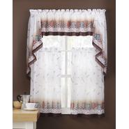 Colormate Window Tier Pair 58X36 Coffee Break at Sears.com