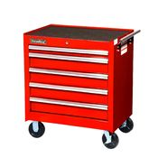 "International 27"" 5-Drawer Ball Bearing Slides Roller Cabinet Red at Sears.com"