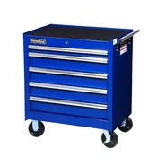 "International 27"" 5-Drawer Ball Bearing Slides Roller Cabinet Blue at Sears.com"