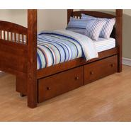 Dorel Walnut 2 Pack Underbed Storage Drawers at Sears.com