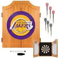 NBA Los Angeles Lakers NBA Wood Dart Cabinet Set at Kmart.com