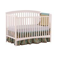 Stork Craft Bradford Fixed Side Convertible Crib - White at Kmart.com