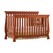 Stork Craft Carrara 4 in 1 Fixed Side Convertible Crib - Cognac at Sears.com
