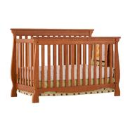 Stork Craft Venetian 4 in 1 Fixed Side Convertible Crib - Oak at Sears.com