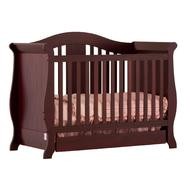 Stork Craft Vittoria 3 in 1 Fixed Side Convertible Crib - Cherry at Sears.com