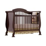 Stork Craft Valentia Fixed Side Convertible Crib- Espresso at Sears.com