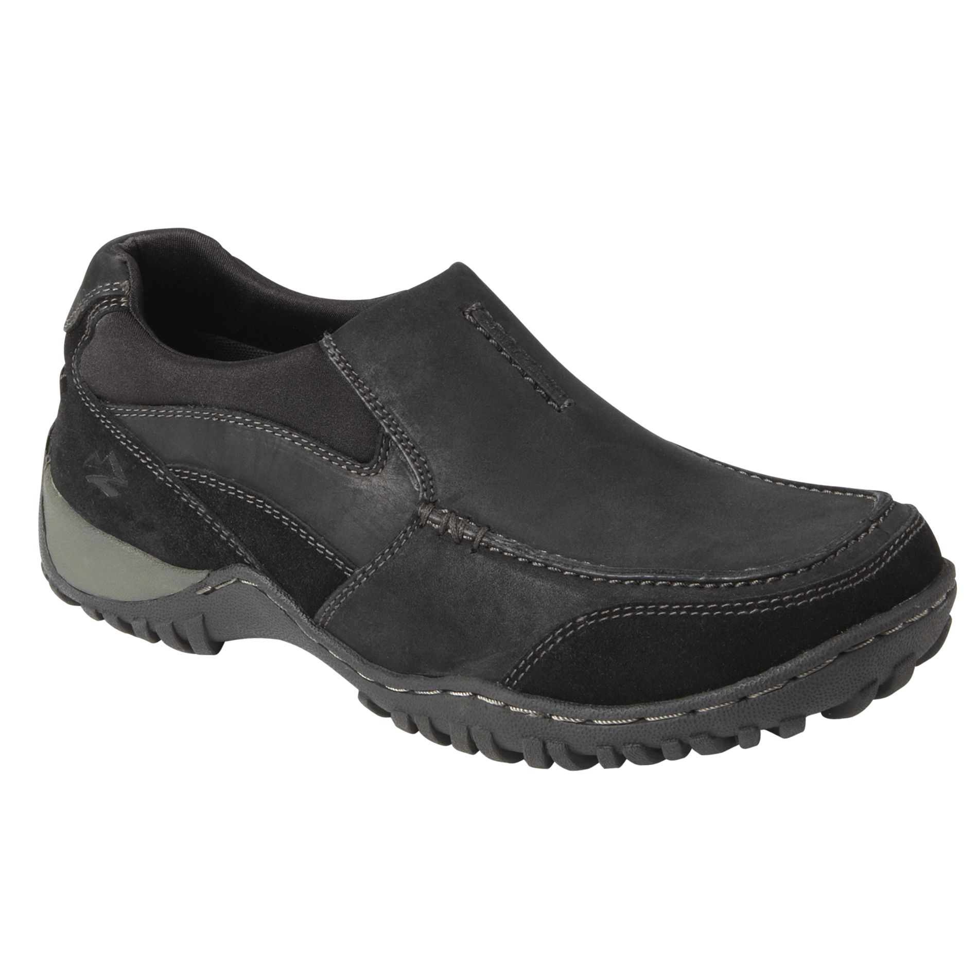 Nunn Bush  Men's Casual Shoe Portage - Black