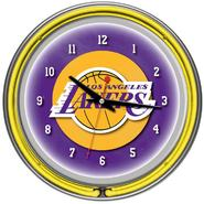 NBA Los Angeles Lakers Double Ring Neon Clock at Kmart.com