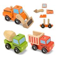 Melissa & Doug Stacking Construction Vehicles at Sears.com