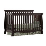 Stork Craft Venetian Convertible Fixed Side Black Crib at Kmart.com