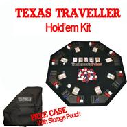 Texas Traveller Table Top & 300 Chip Travel Set at Kmart.com