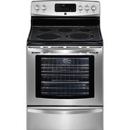"Kenmore 30"" Freestanding Electric Range  w/ True Convection - Stainless Steel at Sears.com"