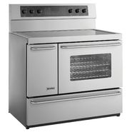 "Kenmore Elite 40"" Double-Oven Freestanding Electric Range - Stainless Steel at Sears.com"