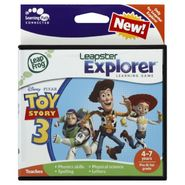 LeapFrog Leapster Explorer Learning Game, Disney/Pixar Toy Story 3, 1 game at Kmart.com
