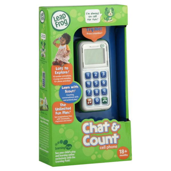 LeapFrog  Cell Phone, Chat & Count, 1 toy