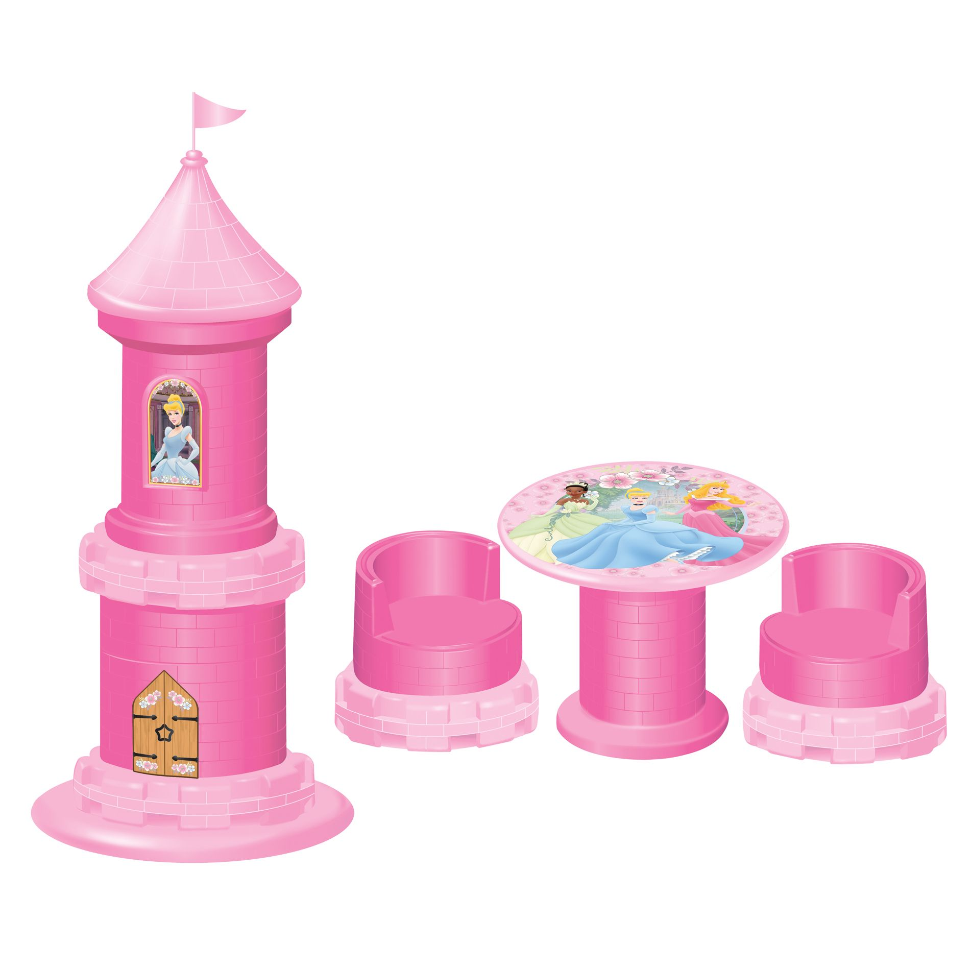 Disney Princess  Puzzle Furniture