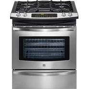 "Kenmore 30"" Gas Self Clean Slide-In Range with Convection Cooking at Sears.com"