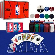 NBA 200 Chip Poker Set with Collector's Tin - w/Cards,Felt at Kmart.com