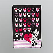 Disney Minnie Mouse Raschel Throw Blanket at Kmart.com