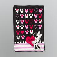 Disney Minnie Mouse Raschel Throw Blanket at Sears.com