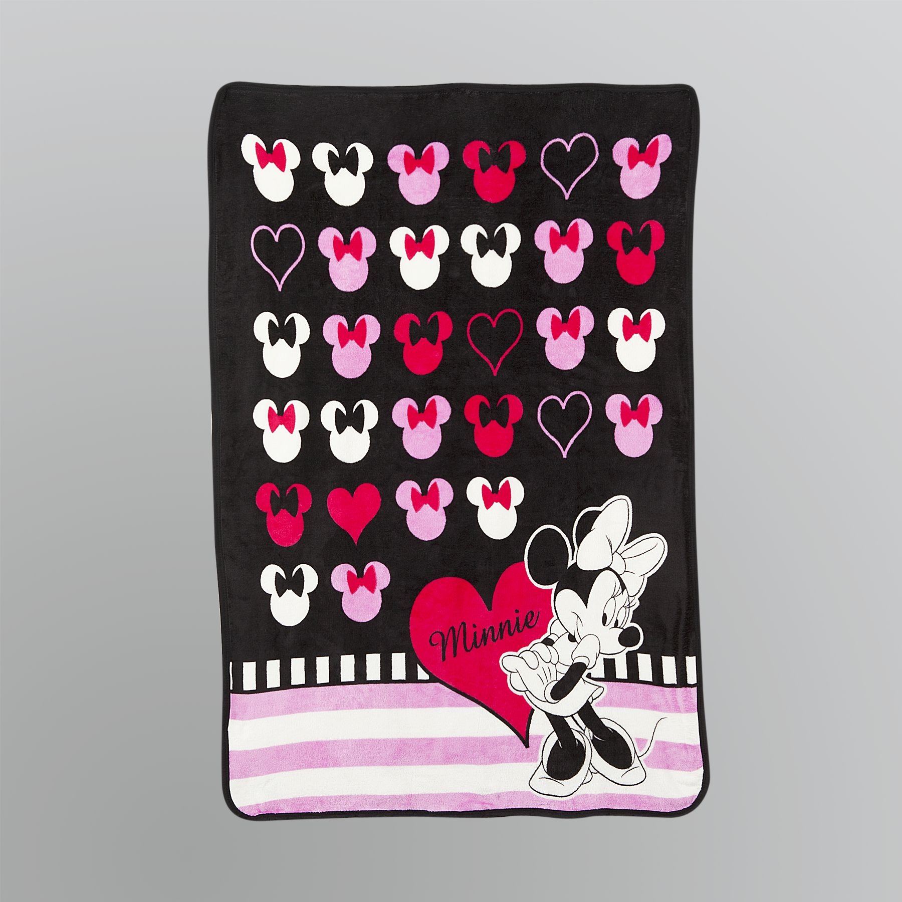 Minnie Mouse Raschel Throw Blanket