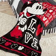 Disney Mickey Mickey Mouse Raschel Throw Blanket at Kmart.com