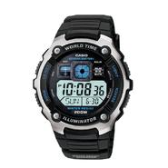 Casio Mens Calendar Day/Date Multi-Function Watch w/Digital Dial and Black Band at Kmart.com