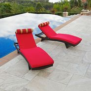 RST Outdoor Cantina Wave Lounger with Mattress and Bolster Pillow Set (2 pack) at Kmart.com